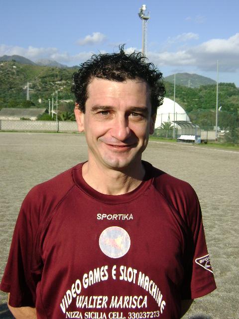 Marcello Rinati (Atl. Roccalumera) tre reti in campiionato.