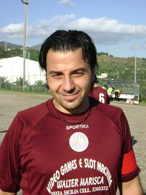 Il capitano Matteo Frazzica - Atl. Roccalumera.