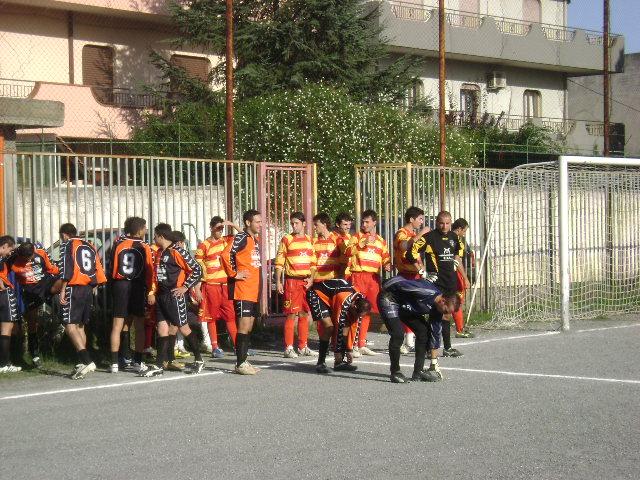 L'ingresso delle squadre in campo.