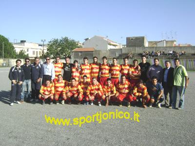 Una formazione del Furci - stagione 2008-09