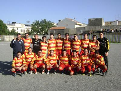 Una formazione del Furci 2008-09