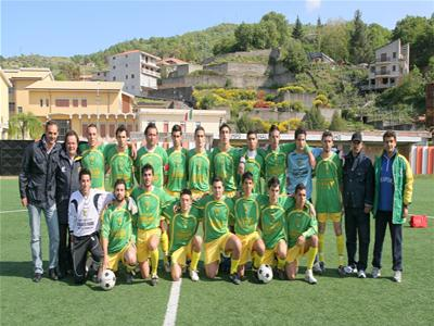 Una formazione della D. Gaggi 2008-09.