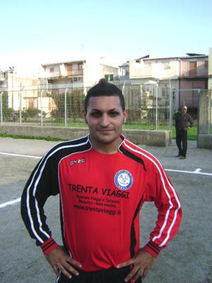 Il giocatore Molonia - Itala