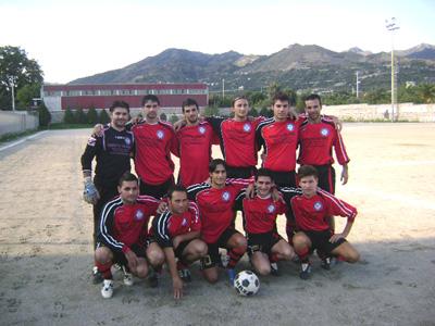 Una formazione dell'Itala 2008-09