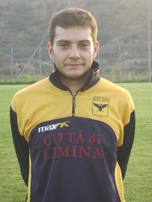 Antonio Saglimbeni - portiere del Limina.