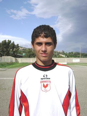 Il portiere GianLuca Trimarchi - S. Alessio.
