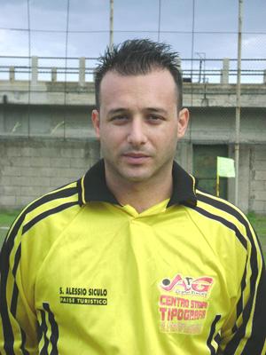 Peppe Mangiò bomber del S. Alessio.