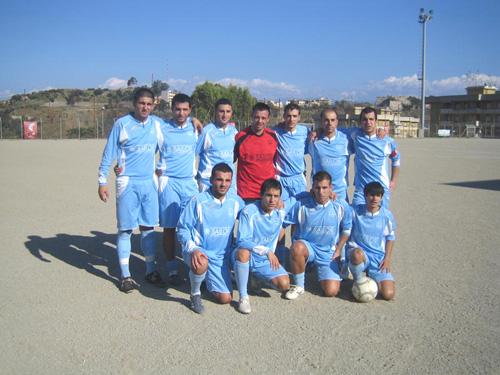Una formazione del Ghibellina 2008-09