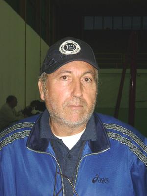 Pippo Giorgianni - Mister Volley S. Teresa.