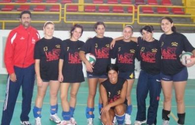 Una formazione del Volley Letojanni 2008-09