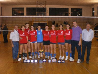Il Team del Volley Roccalumera.