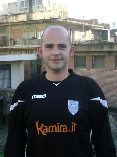 Il dirigente-  giocatore del Ciumaredda - Roberto Chillemi